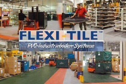 Flexi-Tile™ Industrieböden