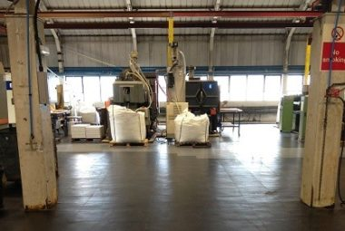 Flexi-Tile als Industrieboden