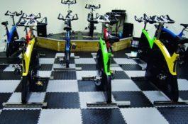 Flexi-Tile PVC Boden als Fitnessboden