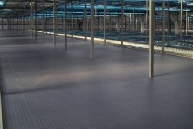 Flexi-Tile als Fabrikhallenboden