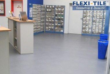 Flexi-Tile Commercial für Gewerbe und Handel