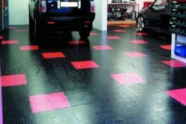 Flexi-Tile Anwendung Garage