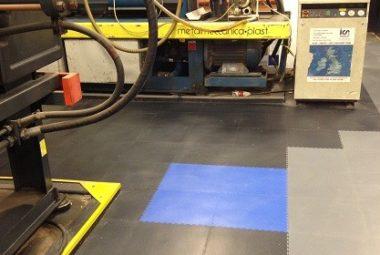 Flexi-Tile Anwendung Industrieboden