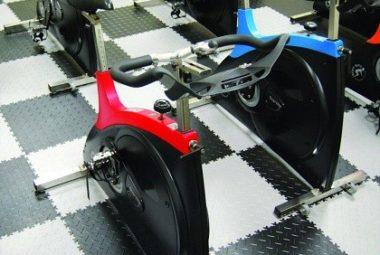 Flexi-Tile als Fitness PVC Fliesen
