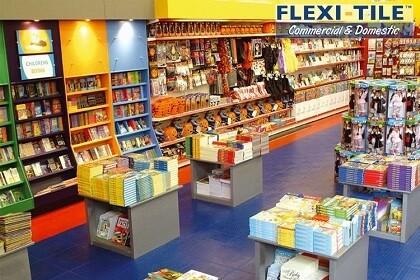 Flexi-Tile Commercial Bodenbelag für Geschäft