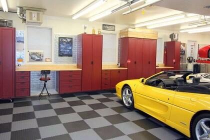 Flexi-Tile Werkstatt- und Garagenboden aus PVC