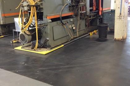 Flexi-Tile Anwendung Industriefußboden