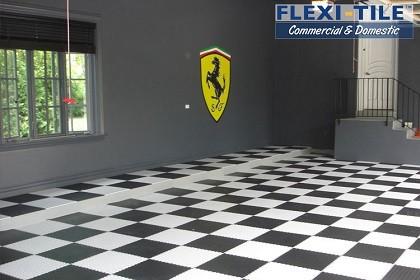 Flexi-Tile Commercial PVC Boden Belag