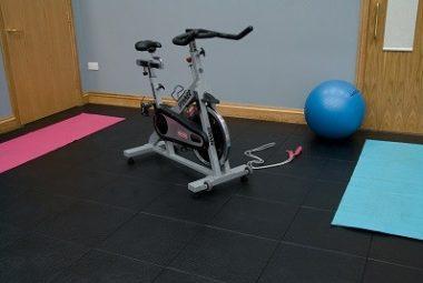 Flexi-Tile als PVC Fitness Bodenbelag