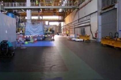 Flexi-Tile Anwendung PVC Industriebodenbelag