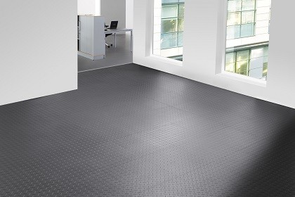 Flexi-Tile Diamond Bodenbelag in Riffel-Optik
