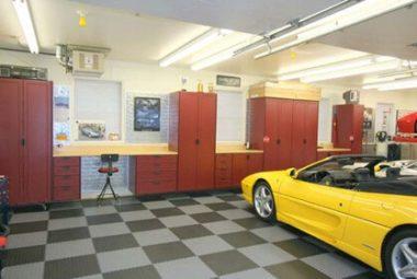 Flexi-Tile Werkstatt- und Garagenboden aus PVC Flexi-Tile Werkstatt- und Garagenboden aus PVC