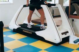 Flexi-Tile Anwendungsbeispiel Fitness
