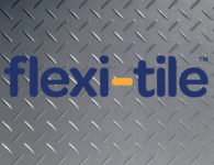 Flexi-Tile Diamond PVC Bodenfliese in Riffel-Optik