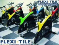 Flexi-Tile Diamond PVC Bodenfliesen - Anwendungsbeispiel Fitness