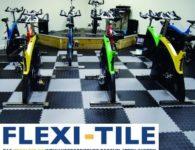 Flexi-Tile Diamond PVC Bodenfliesen - Anwendungsbeispiel Fitnessgym