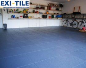 Flexi-Tile Eclipse Mini Anwendungsbeispiel Garage
