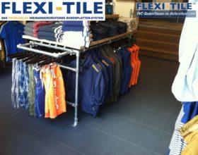 Flexi-Tile Eclipse Mini Anwendungsbeispiel Ladenbereich