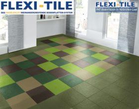 Flexi-Tile Eclipse Mini Anwendungsbeispiel Sonderfarben X