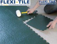 Flexi-Tile Eclipse Mini Anwendungsbeispiel Verlegung