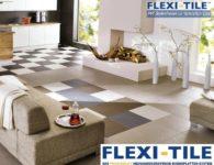 Flexi-Tile Eclipse Mini Anwendungsbeispiel Wohnbereich verschiedene Farben