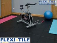 Flexi-Tile Eclipse Mini Anwendungsbeispiel im Fitnessbereich