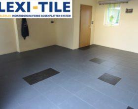 Flexi-Tile Eclipse Mini Beispielanwendung Garage
