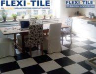 Flexi-Tile Eclipse Mini Beispielanwendung im Schachbrettmuster
