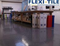 Flexi-Tile PVC Belag als Gewerbeboden
