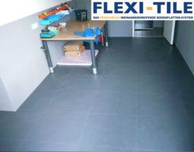 Flexi-Tile PVC Boden Anwendungsbeispiel