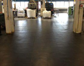 Flexi-Tile PVC Boden Anwendungsbeispiel Industrie