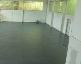 Flexi-Tile PVC Boden Anwendungsbeispiel Industrieboden