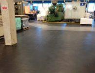Flexi-Tile PVC Boden Anwendungsbeispiel Industriebodenbelag