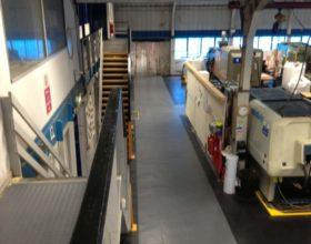 Flexi-Tile PVC Boden Beispielanwendung Industrieboden