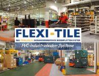 Flexi-Tile PVC Boden Industriebodenbelag - Anwendungsbeispiele