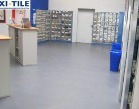 Flexi-Tile PVC Boden fu¦êr Gewerbe und Industrie