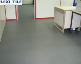 Flexi-Tile PVC Boden fu¦êr Industrie und Gewerbe