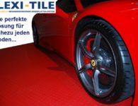 Flexi-Tile PVC Boden mit Sportwagen