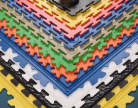 Flexi-Tile PVC-Boden - verschiedene Fliesen