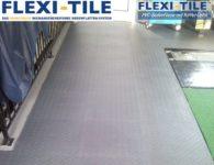 Flexi-Tile PVC Bodenbelag im Garagenbereich