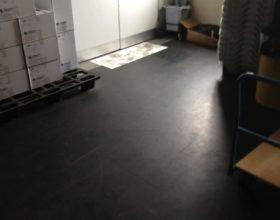 Flexi-Tile PVC Bodenfliesen Industrieboden Beispielanwendung
