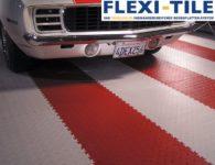 Flexi-Tile PVC Bodenfliesen - Riffel-Optik Diamond Ausfu¦êhrung