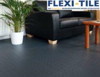 Flexi-Tile PVC Bodenfliesen als Bu¦êroboden - Ausfu¦êhrung Diamond