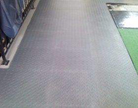 Flexi-Tile PVC Bodenfliesen als Garagenboden - Anwendungsbeispiel PVC Fliese
