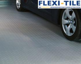 Flexi-Tile PVC Bodenfliesen als Garagenbodenbelag