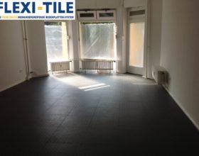 Flexi-Tile PVC Bodenfliesen als Gewerbeboden - Anwendungsbeispiel Laden