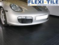 Flexi-Tile PVC Bodenplatten im Garagenbereich