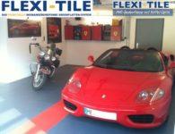 Flexi-Tile PVC Bodenplatten im Garagenbereich - Anwendungsbeispiel