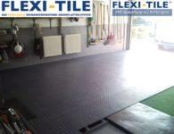 Flexi-Tile PVC Bodenplatten im Garagenbodenbereich