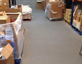 Flexi-Tile PVC Fliesen - Beispielanwendung Industrieboden in Lager